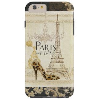 Lámpara de la torre Eiffel de la moda del la del Funda De iPhone 6 Plus Tough