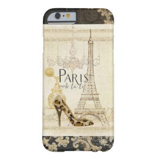 Lámpara de la torre Eiffel de la moda del la del Funda Para iPhone 6 Barely There
