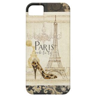 Lámpara de la torre Eiffel de la moda del la del iPhone 5 Carcasa