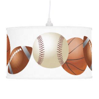 Lámpara de las bolas de los deportes