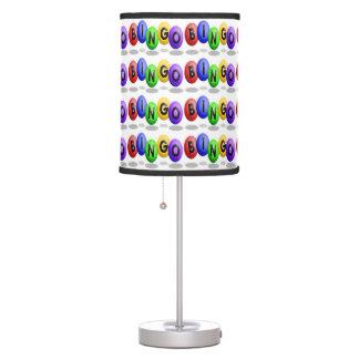 Lámpara de los amantes del bingo