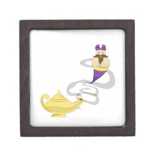 Lámpara de los genios cajas de joyas de calidad