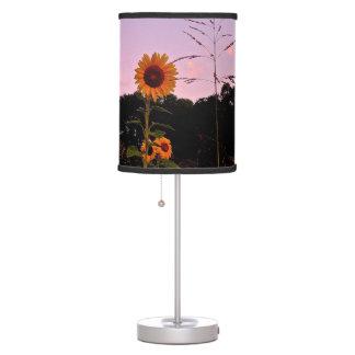 Lámpara de los girasoles de la salida del sol