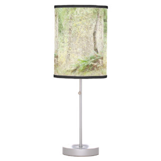 Lámpara de maderas del otoño