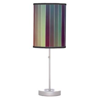 Lámpara de mesa abstracta colorida de Strippes