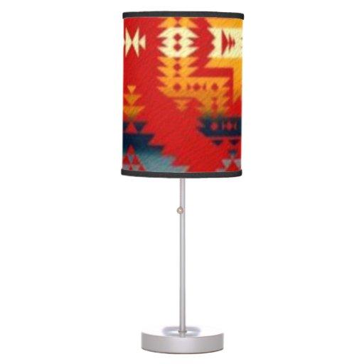 Lámpara de mesa al sudoeste del modelo