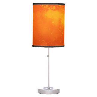 Lámpara de mesa anaranjada elegante de la chispa