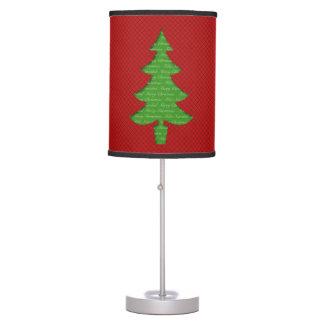 Lámpara de Mesa - Arbol de Navidad