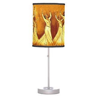 Lámpara de mesa armenia de los bailarines