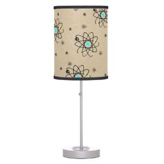Lámpara de mesa atómica retra de la impresión de l