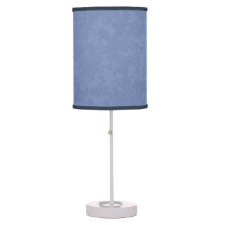 Lámpara de mesa azul hermosa de la decoración de