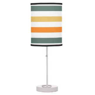 Lámpara de mesa baja blanca