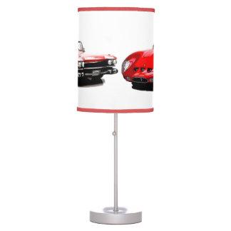 Lámpara de mesa clásica de los coches