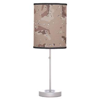 Lámpara de mesa de Camo del desierto