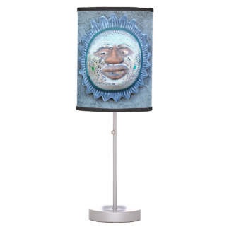 lámpara de mesa de cerámica del sunface
