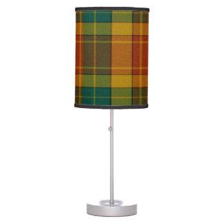 Lámpara de mesa de Grant del tartán