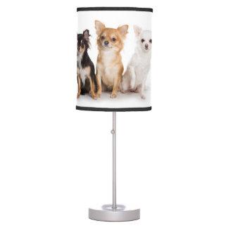 Lámpara de mesa de la chihuahua