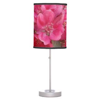 Lámpara de mesa de la flor del tiempo de primavera