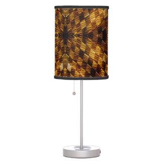 Lámpara de mesa de la Madera-Teja de los inspector