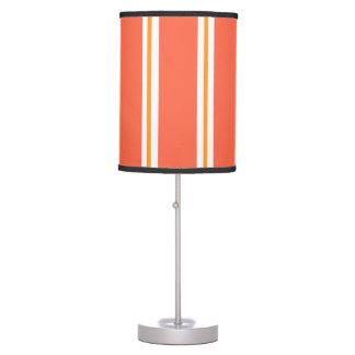 """""""Lámpara de mesa de la raya de la calabaza"""" Lámpara De Mesilla De Noche"""
