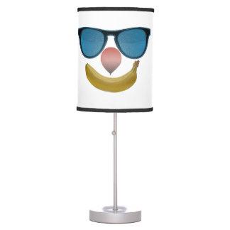 Lámpara de mesa de la sonrisa