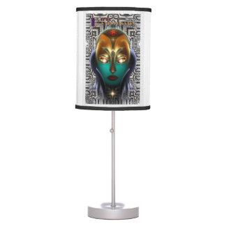 Lámpara de mesa de la tecnología de la reina del