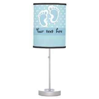 """Lámpara de mesa de las huellas del """"bebé"""""""