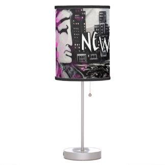 Lámpara de mesa de New York City
