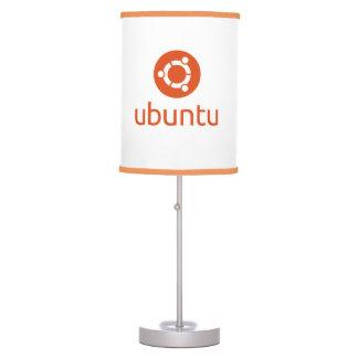 Lámpara de mesa de Ubuntu