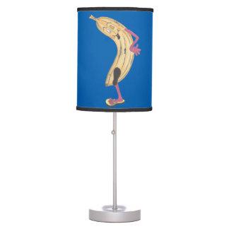 Lámpara de mesa del azul del plátano de Benny