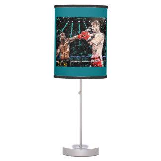 Lámpara de mesa del boxeo