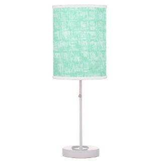 Lámpara de mesa del Julep de menta