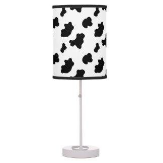 Lámpara de mesa del modelo de la impresión de la v