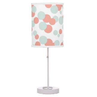 Lámpara de mesa del modelo del confeti de las burb