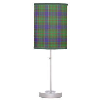 Lámpara de mesa del tartán de Adams