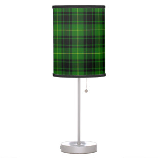 Lámpara de mesa del tartán de MacArthur