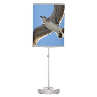 Lámpara de mesa del vuelo del pájaro de la gaviota