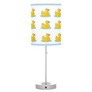 lámpara de mesa ducky del baño de goma del pato