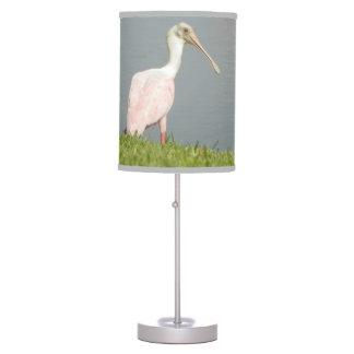Lámpara de mesa DULCE del SPOONBILL ROSADO