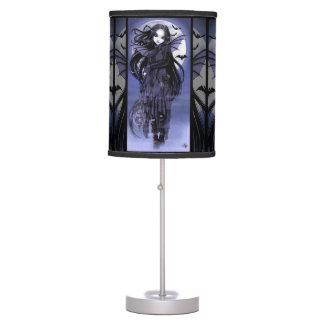 Lámpara de mesa gótica de la hada del palo de la l