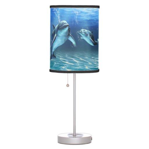 Lámpara de mesa ideal del delfín