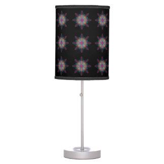 Lámpara de mesa multicolora Trippy del comienzo