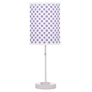 Lámpara de mesa o colgante, lunares de color de ma