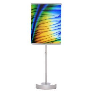 Lámpara de mesa única de la piedra preciosa de la