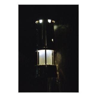 Lámpara de mineros fotografías
