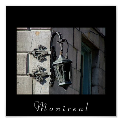 Lámpara de Montreal Impresiones