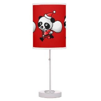 Lámpara de Santa de la panda