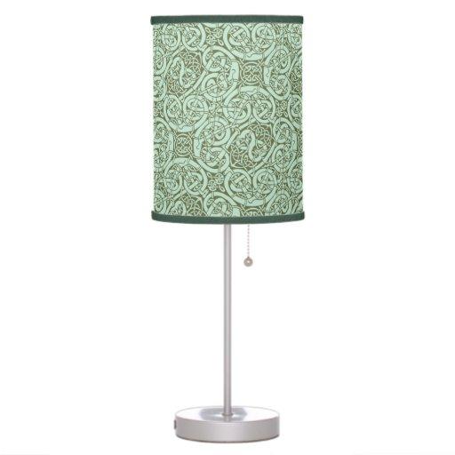Lámpara decorativa del diseño céltico del nudo