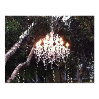 Lámpara del árbol postal