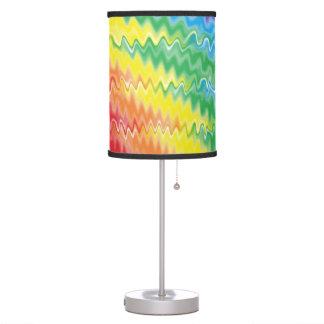 Lámpara del arco iris de la lava